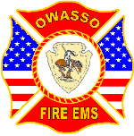 Owasso Fire Department Patch 6