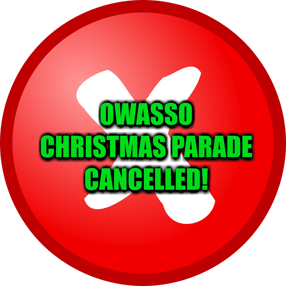 Christmas Parade Cancelled