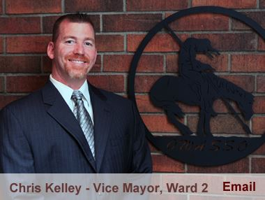 Chris Kelley representing Ward 2