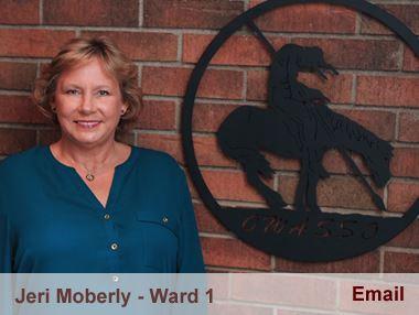 Jeri Moberly representing Ward 1