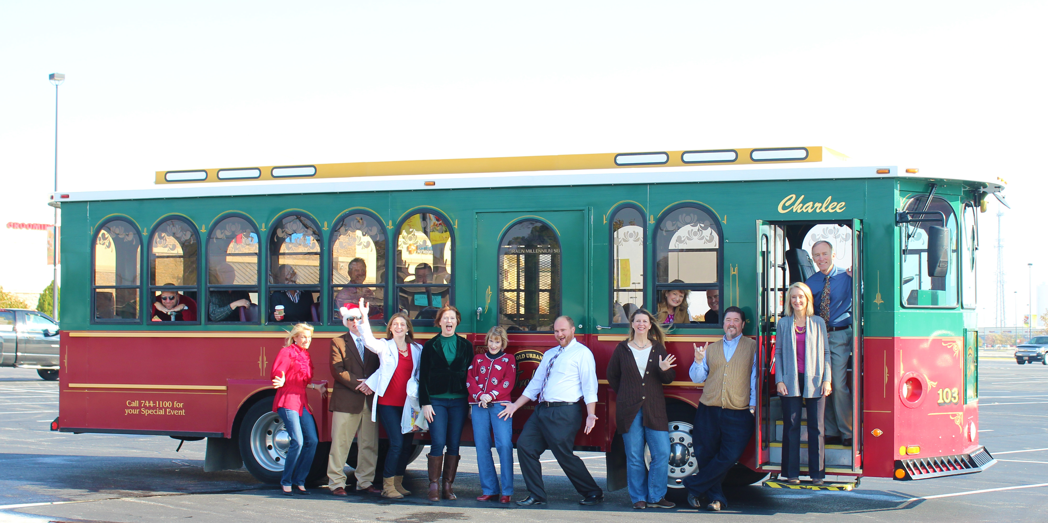 Holly Trolley w directors fun shot