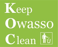 Keep Owasso Clean logo